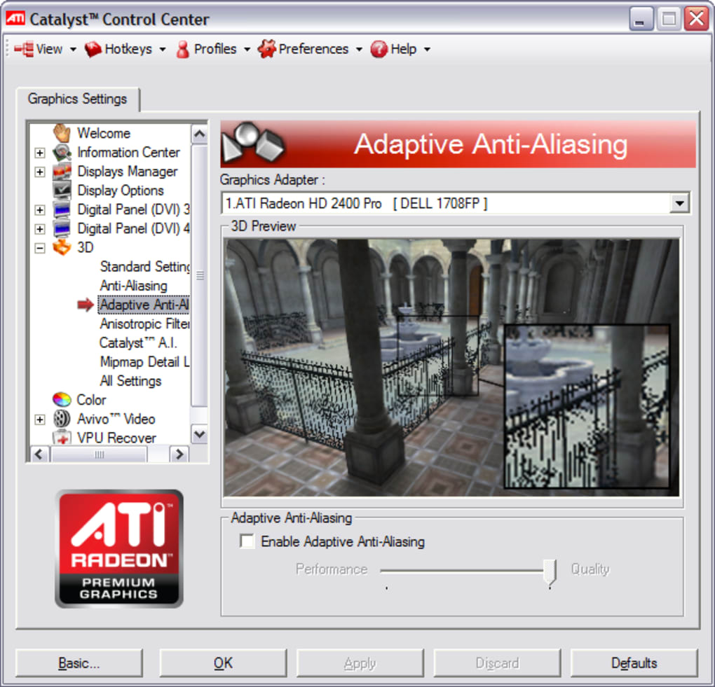 ATI CATALYST GRAPHICS DRIVER WINDOWS XP
