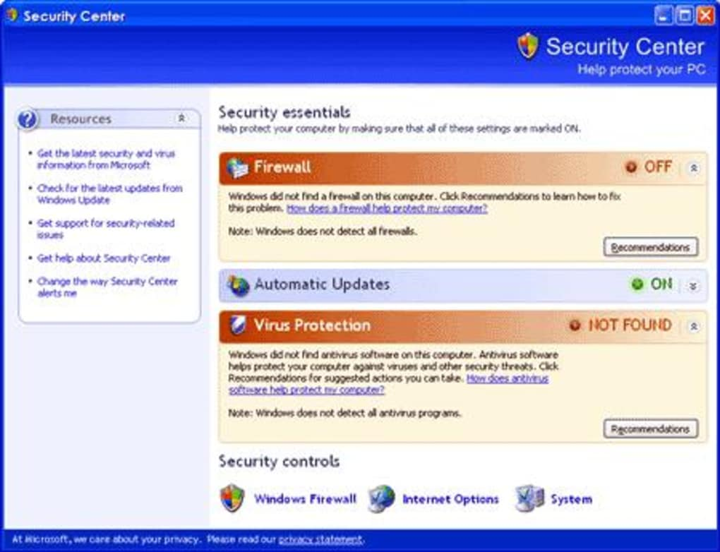 Windows XP Service Pack. 1/1 Screenshots