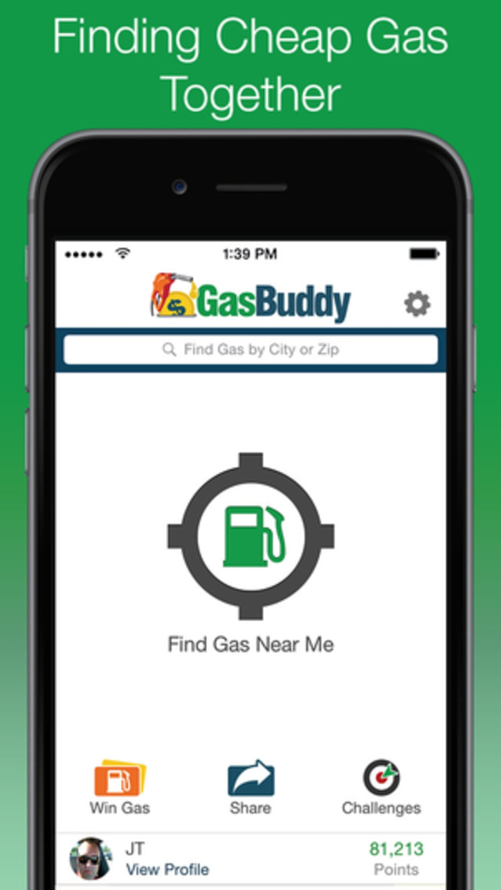 Cheap Gas Finder >> Gasbuddy For Iphone Download