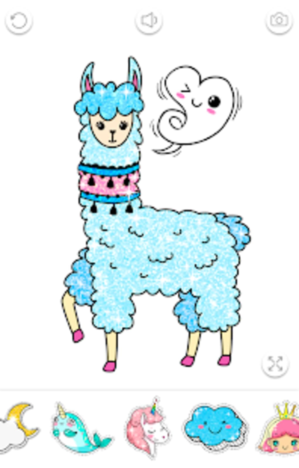 Kawaii Coloring Book Glitter for Android - Download