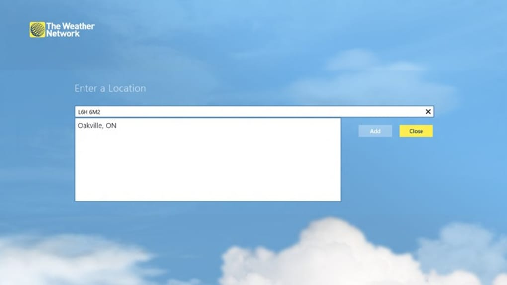 the weather network for windows 10  windows