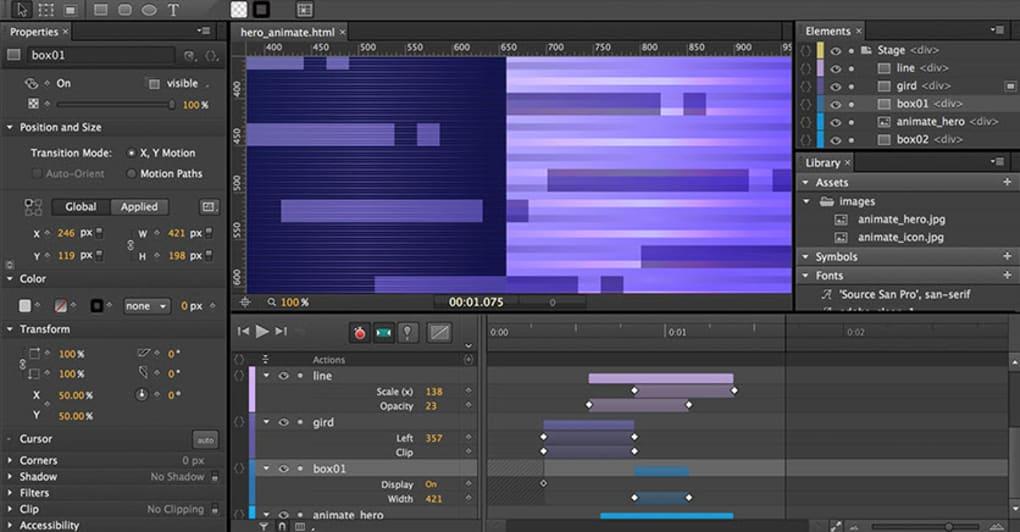 Adobe Edge Animate - Download