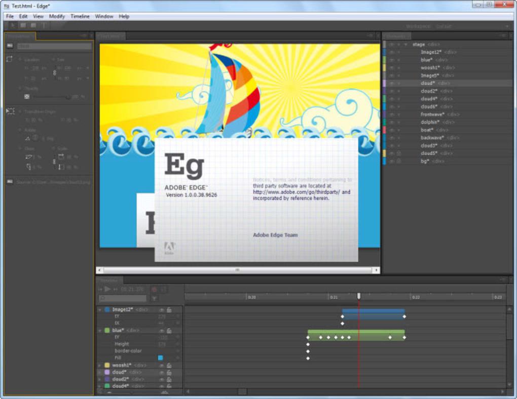 Adobe edge animate download