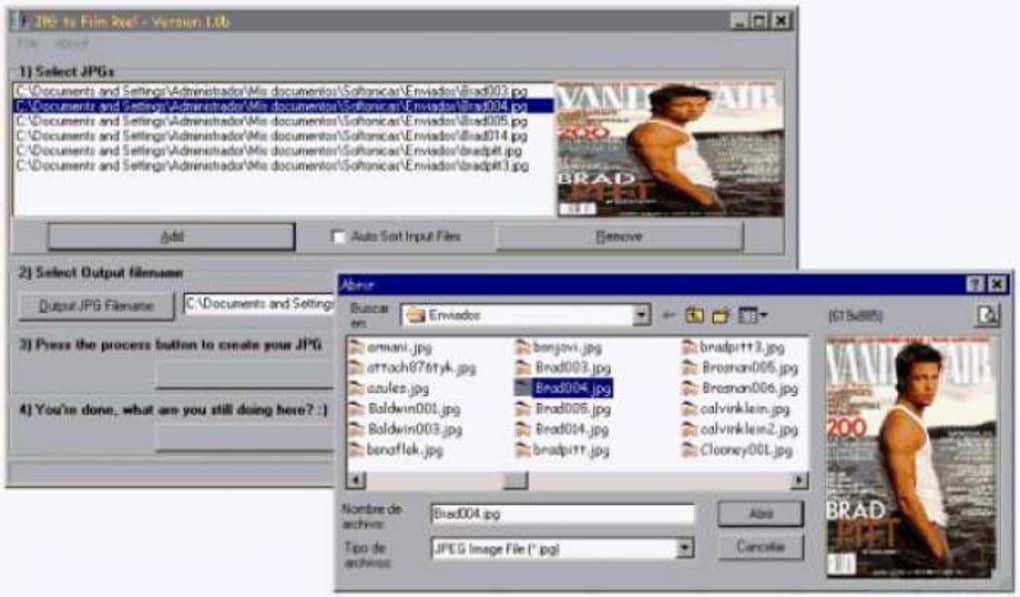 JpgToFilm - Descargar