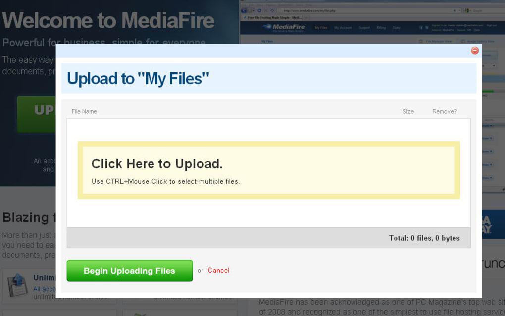 Mediafire Online