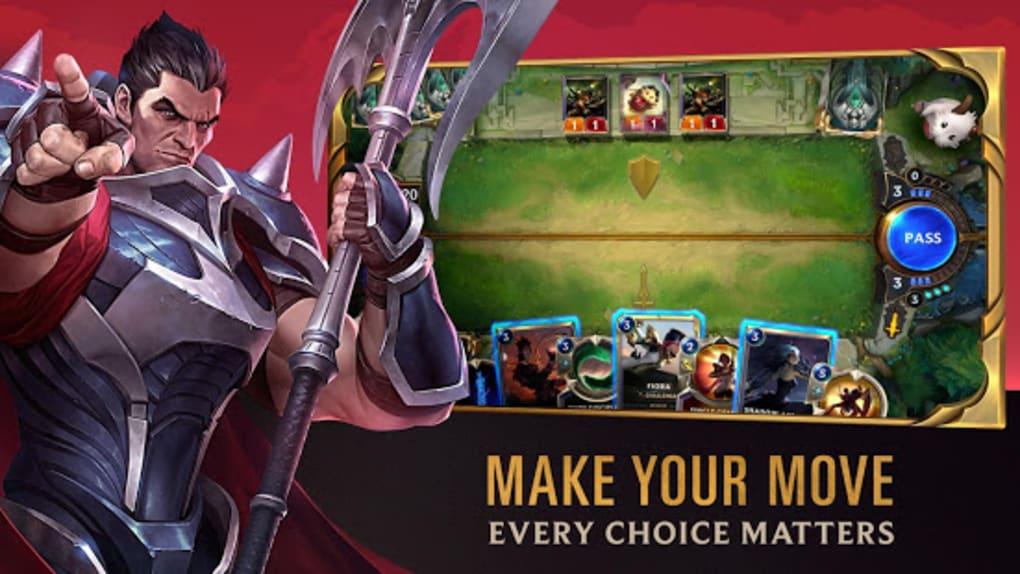Legends Of Runeterra Para Android Descargar
