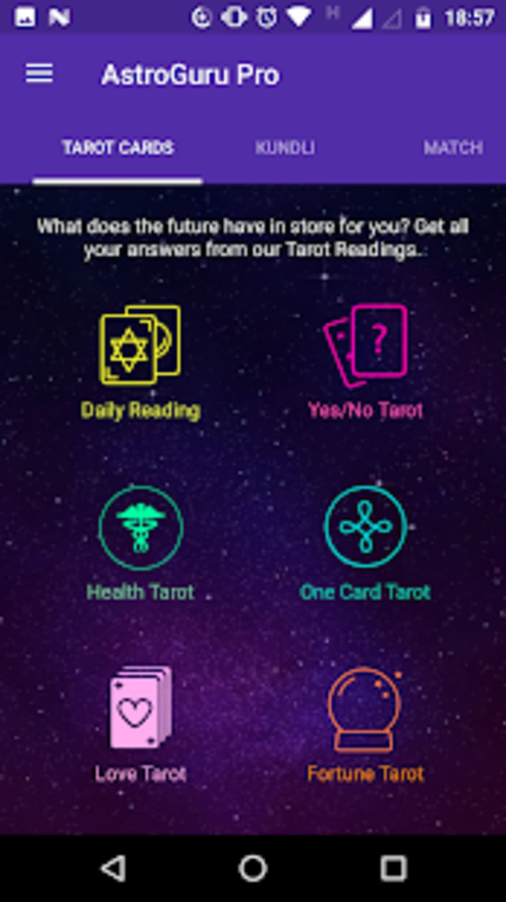 Astro Guru Pro: Palmistry Astrology Tarot for Android - Download