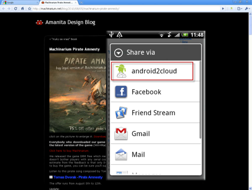 android2cloud for Android - Download