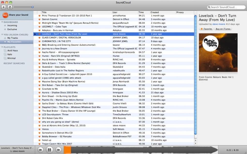 telecharger soundcloud pour windows