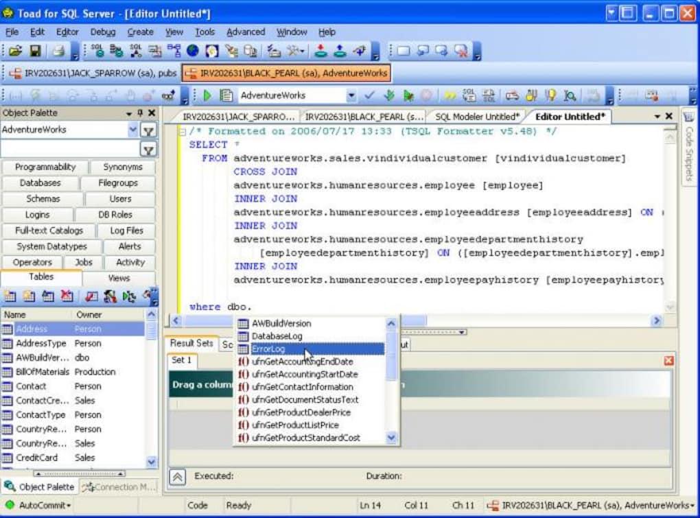 Toad for SQL Server - Download