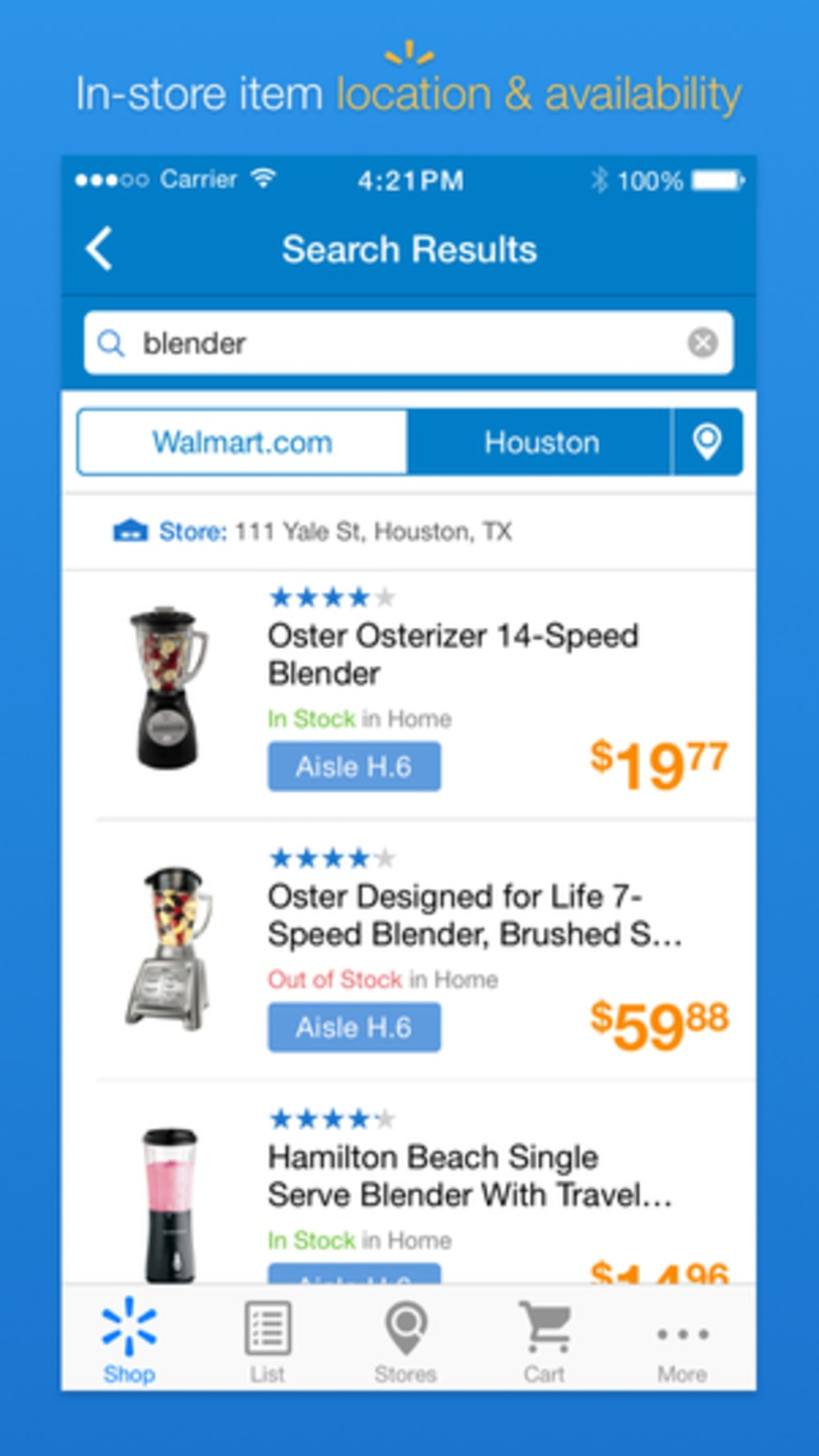 Walmart for iPhone - Download