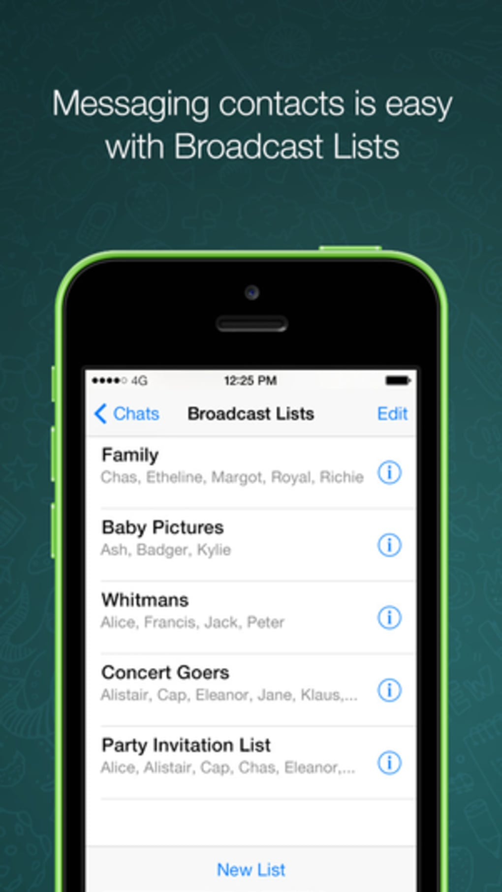 WhatsApp Messenger for iPhone - Download