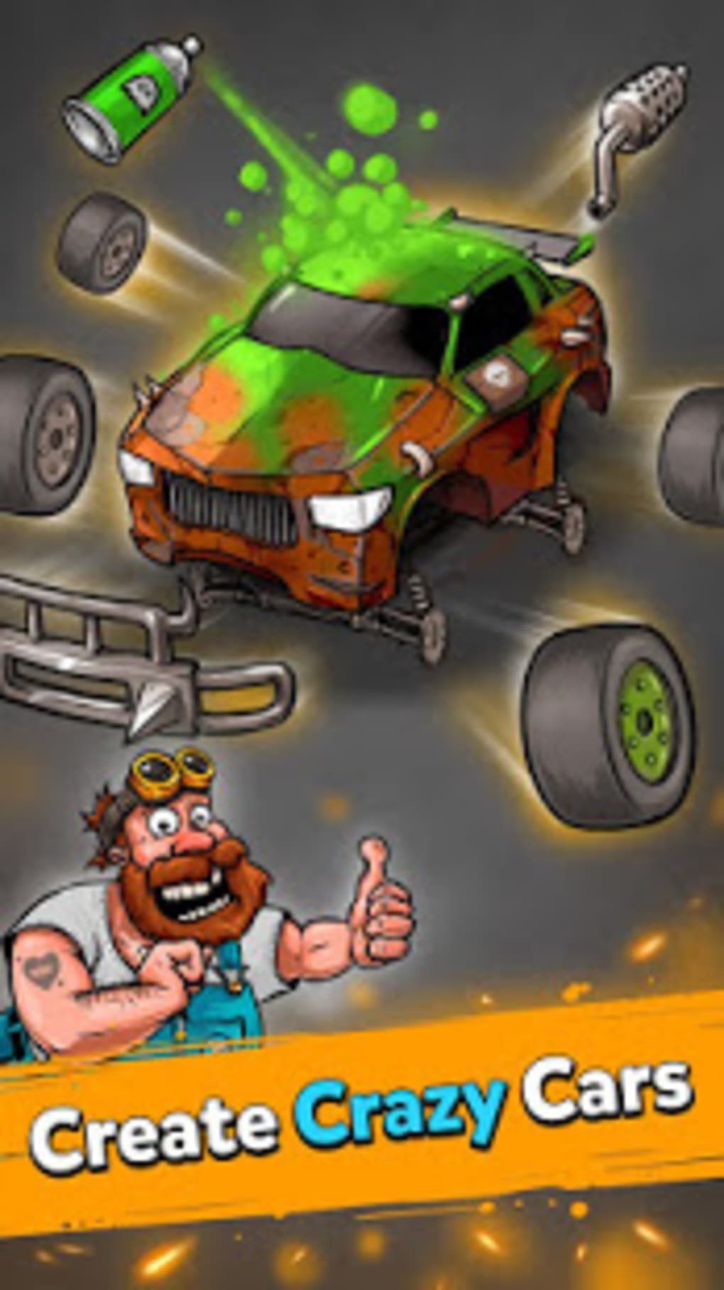 Battle Car Tycoon: Idle Merge Arena for Android - Download