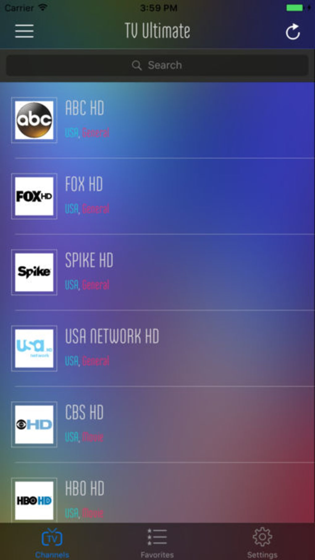 TV Ultimate - Watch IPTV Live Streams for iPhone - Download