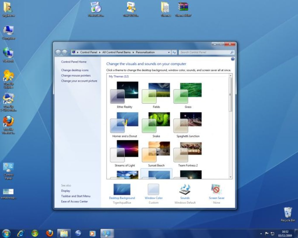 windows 7 visual themes pack  windows