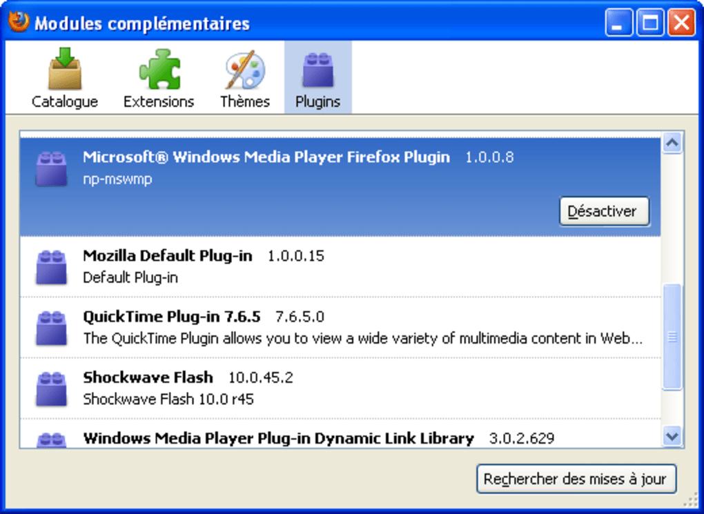 windows media player ucf plugin