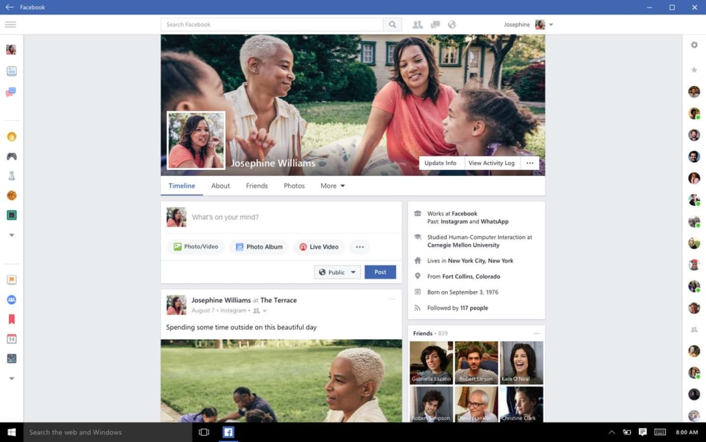 Facebook for Windows 10 untuk Windows - Unduh