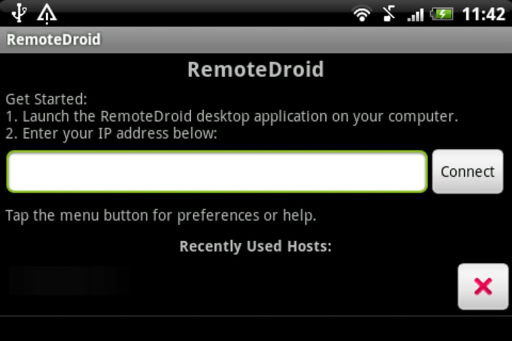 How to turn your android handset into wireless mouse and keypad.