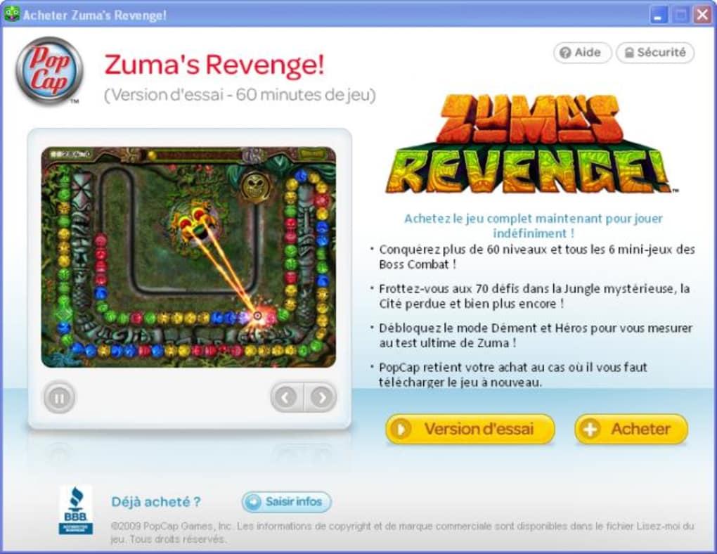 Zumas Revenge Télécharger
