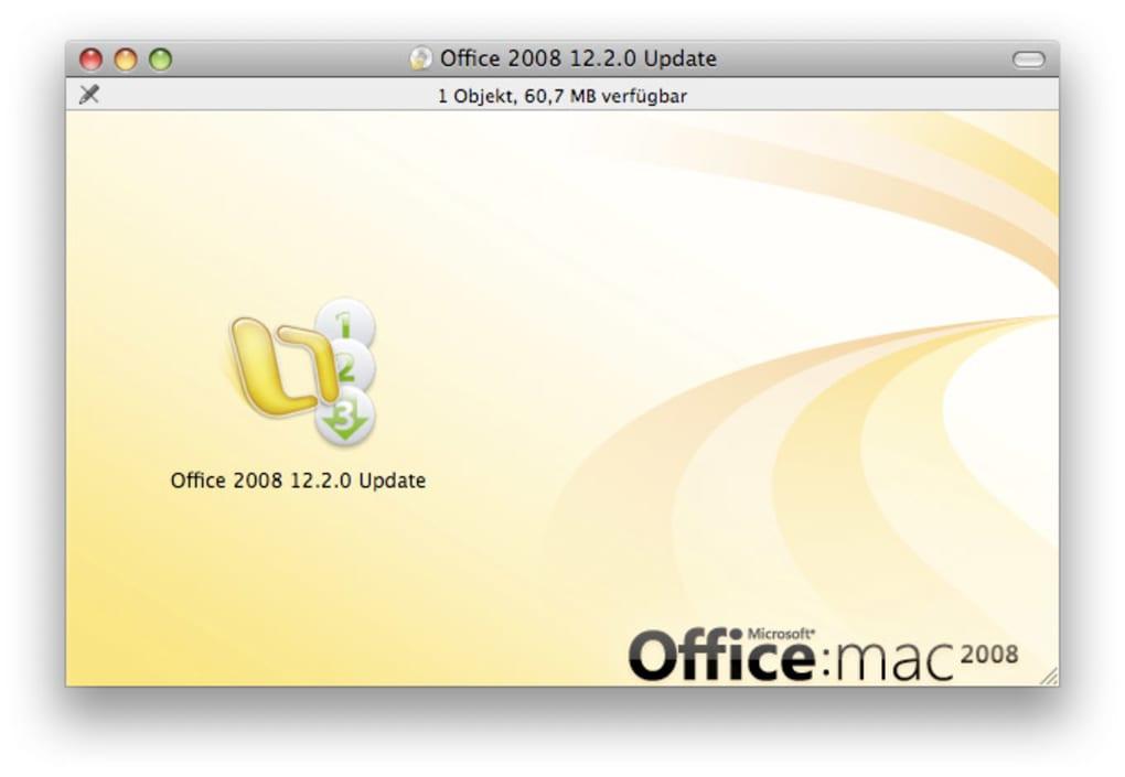 Microsoft Office 2008 Update untuk Mac - Unduh