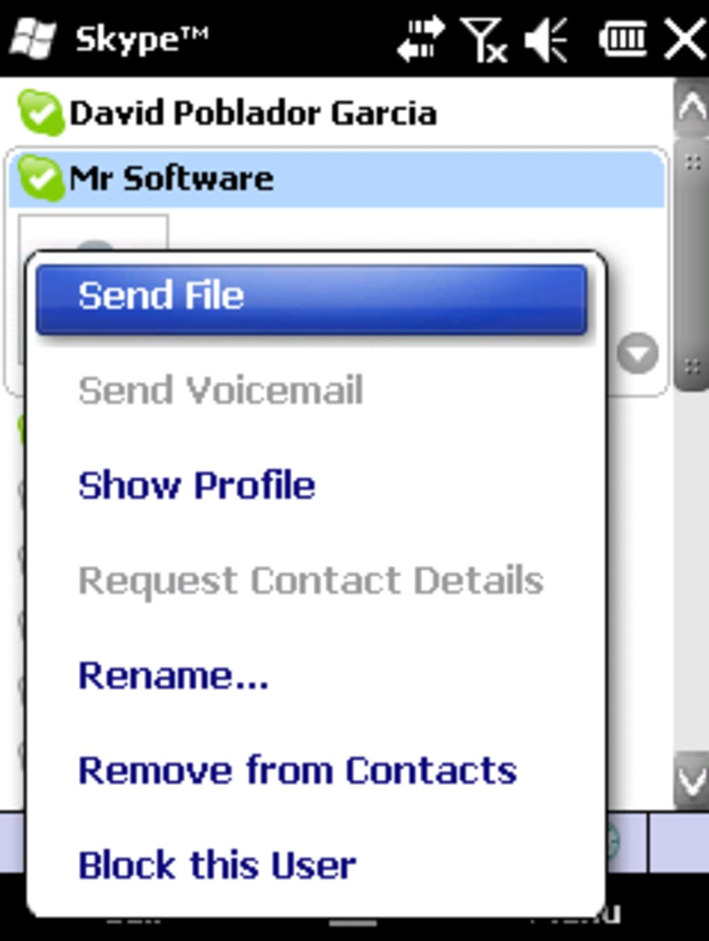 skype pour pocket pc 3.0.0.256