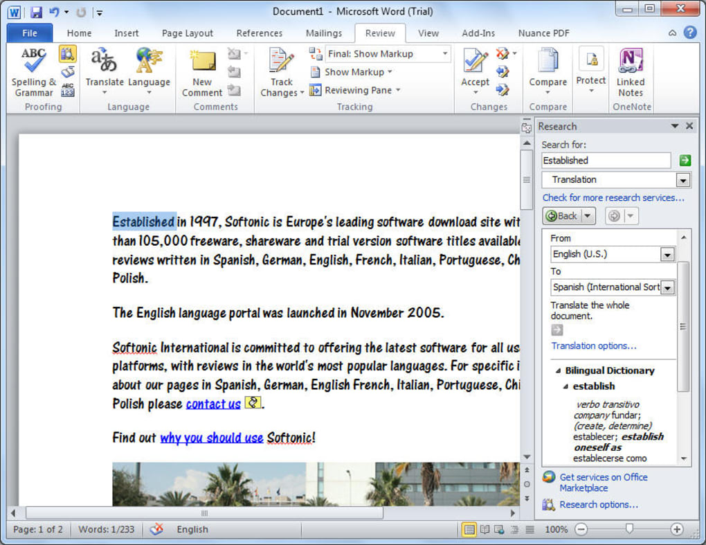 microsoft word document 2010 free download