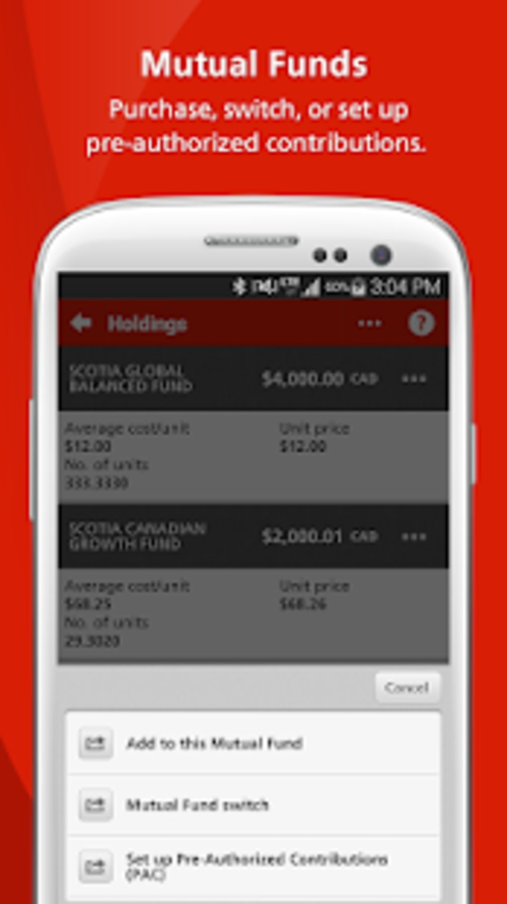 Scotiabank Mobile Banking for Android - Download