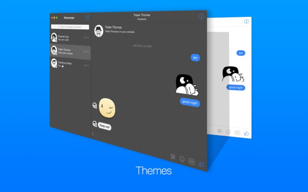 FreeChat for Facebook Messenger for Mac - Download