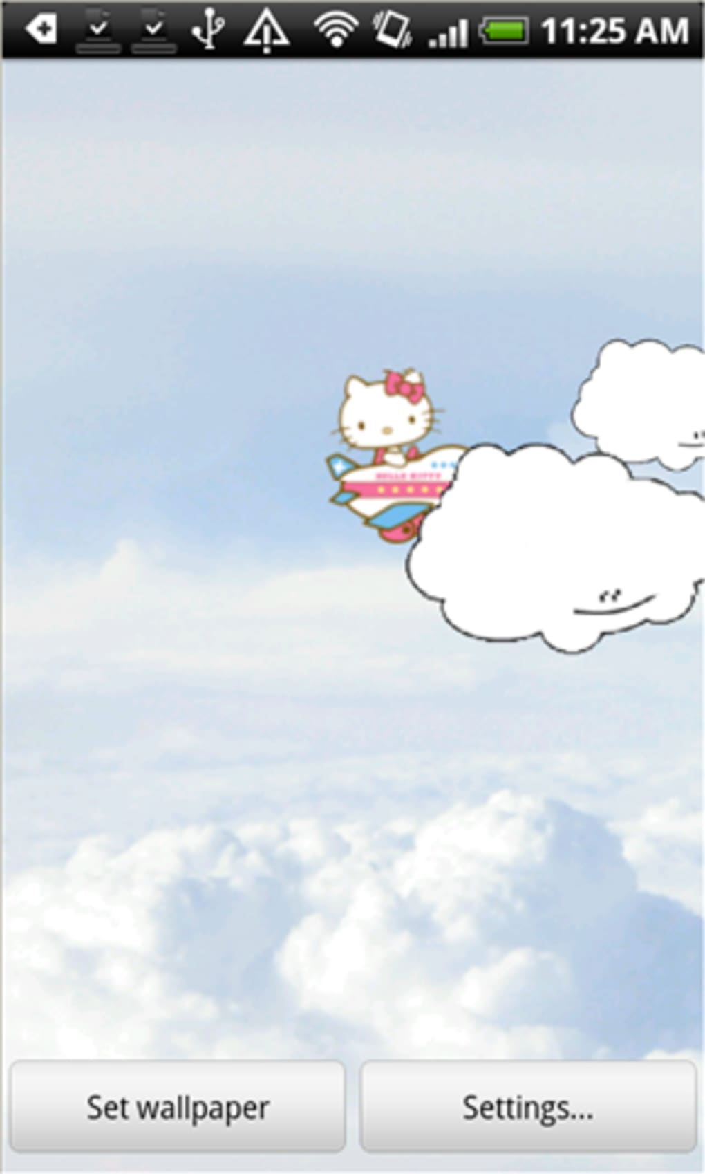 Hello Kitty Live Wallpaper For Android