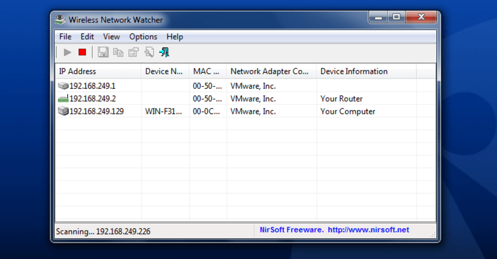 Скачать программу wireless network watcher скачать freedom программа