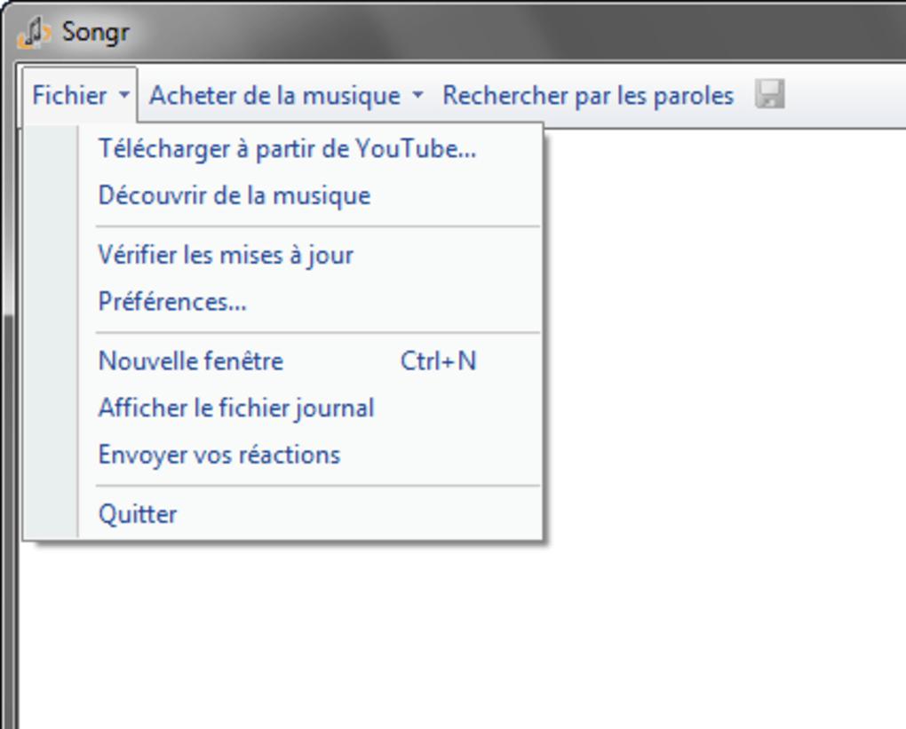 songr en français