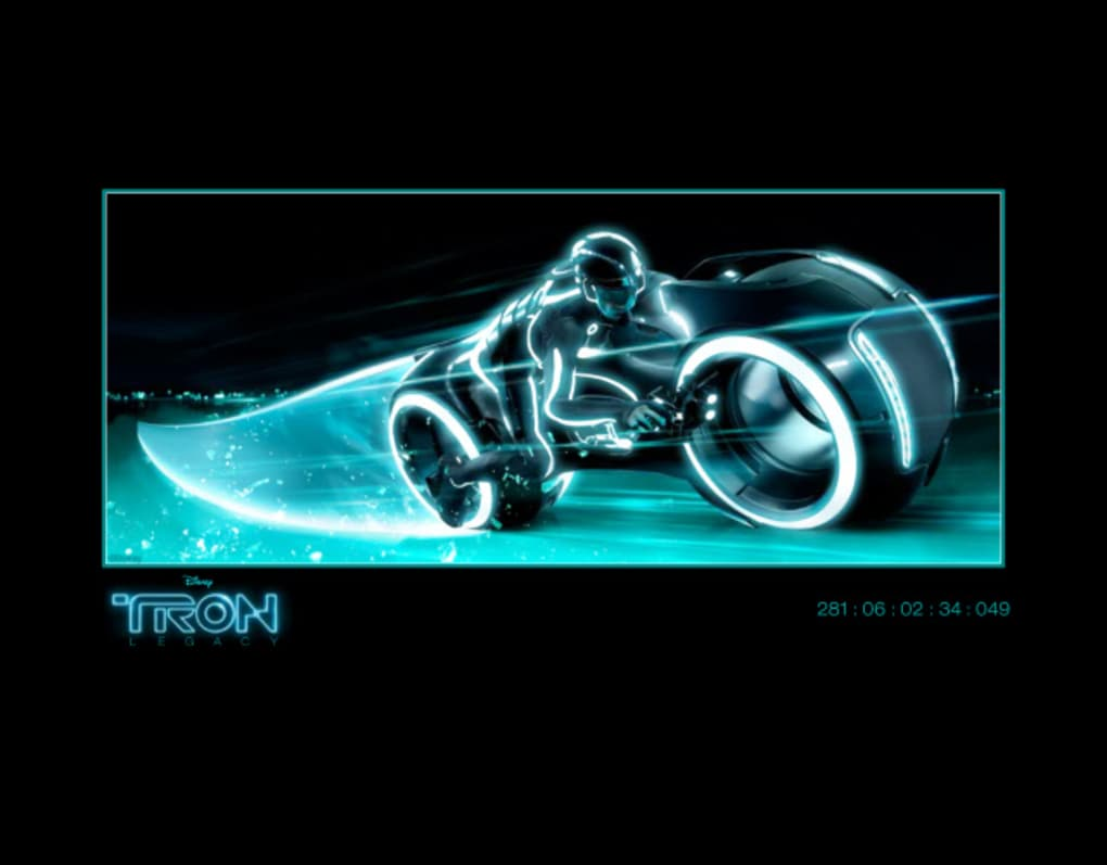 tron legacy screensaver per mac - download