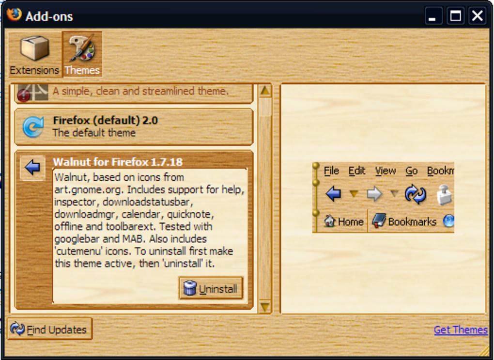 Walnut Theme - Download
