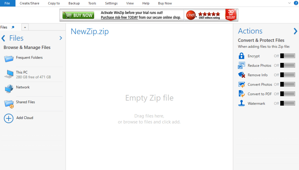 descargar winrar zip para windows 10