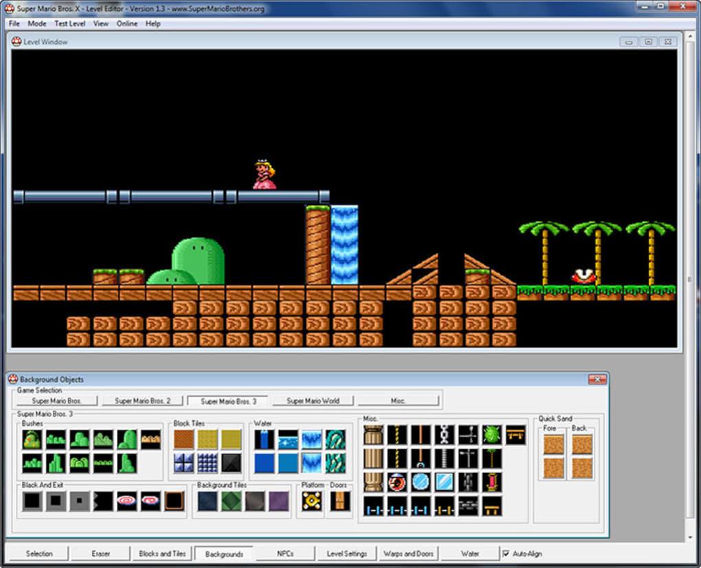 Super Mario Bros X - Download