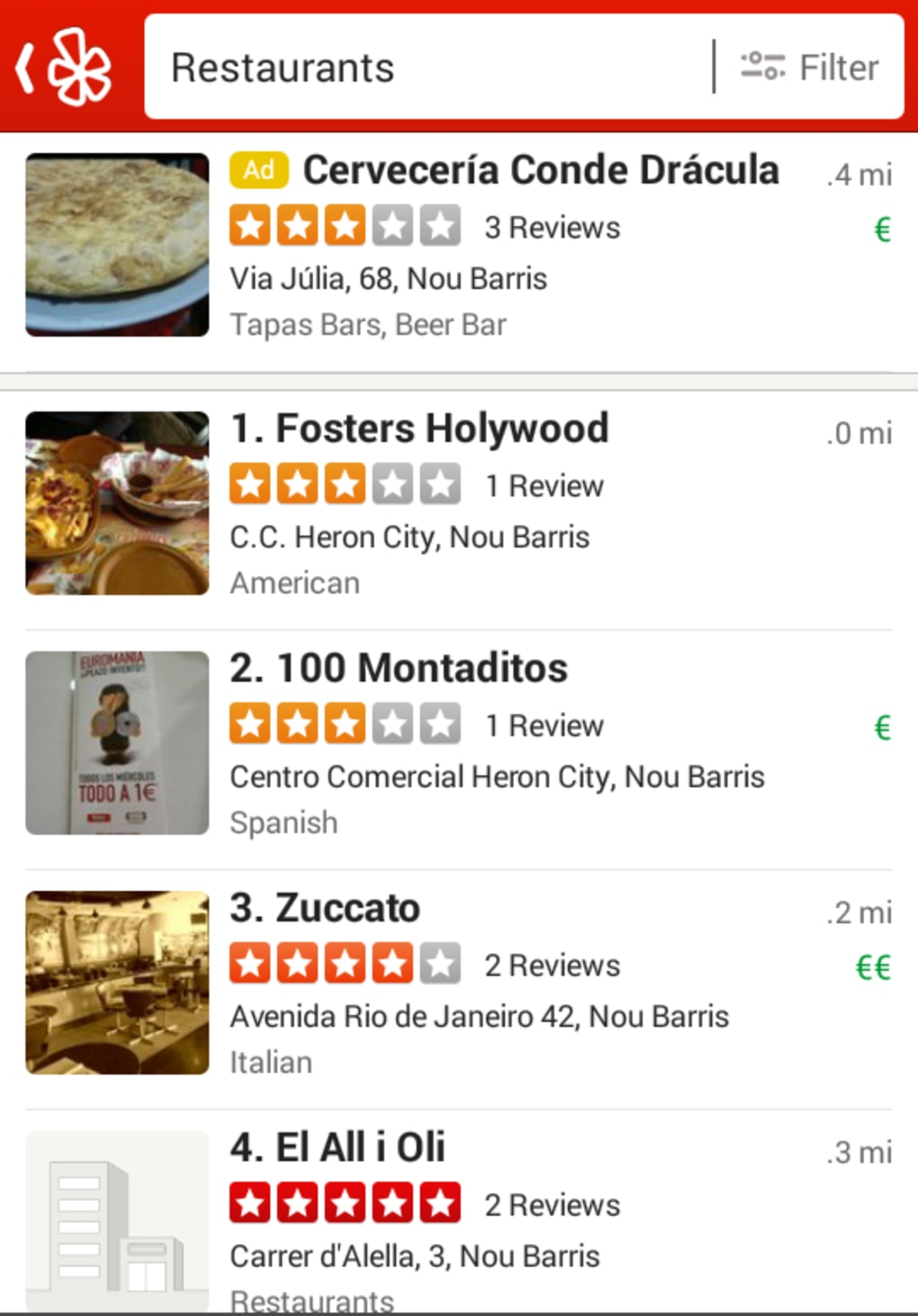 Yelp For Android Download