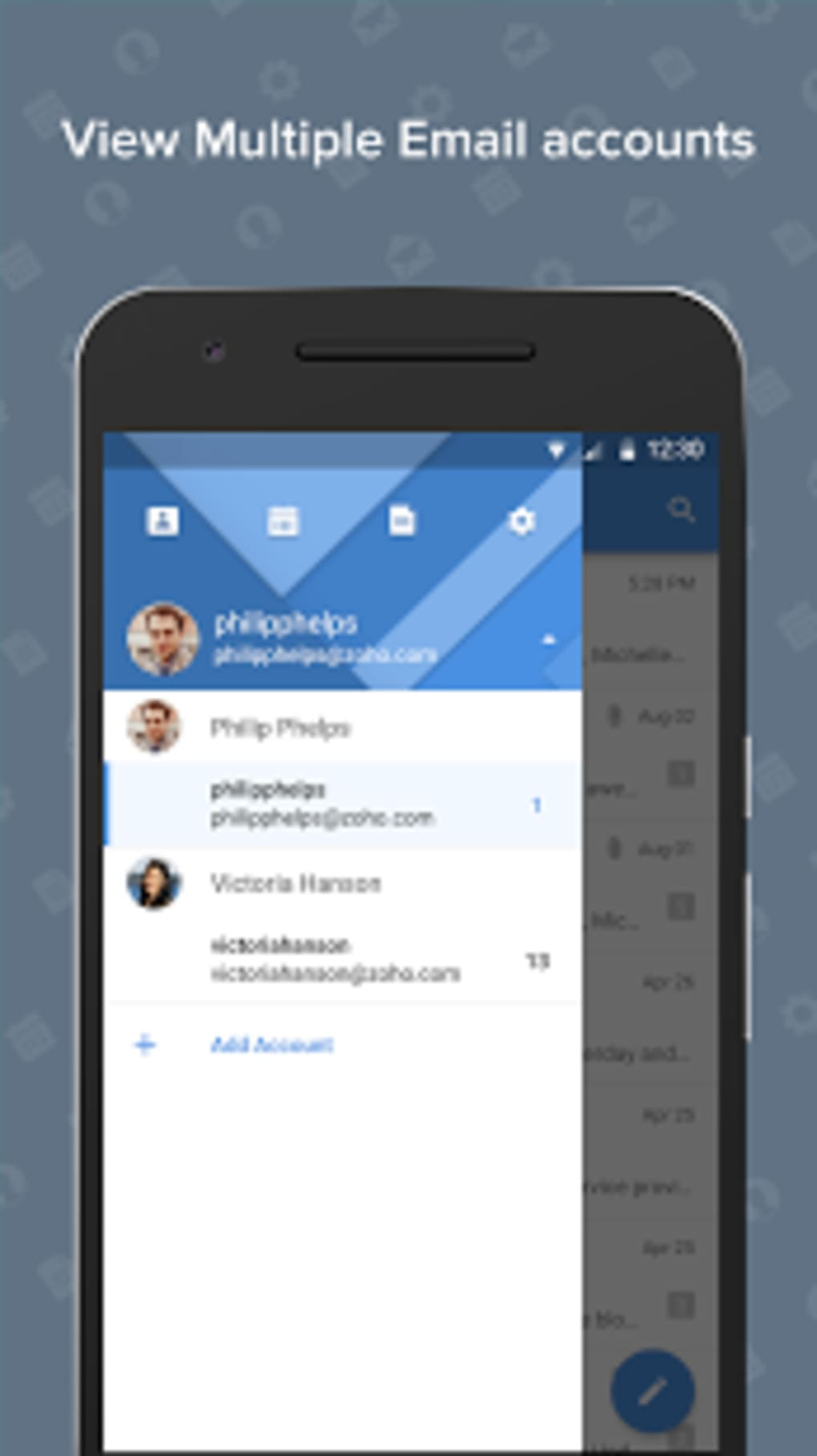 zoho mail download