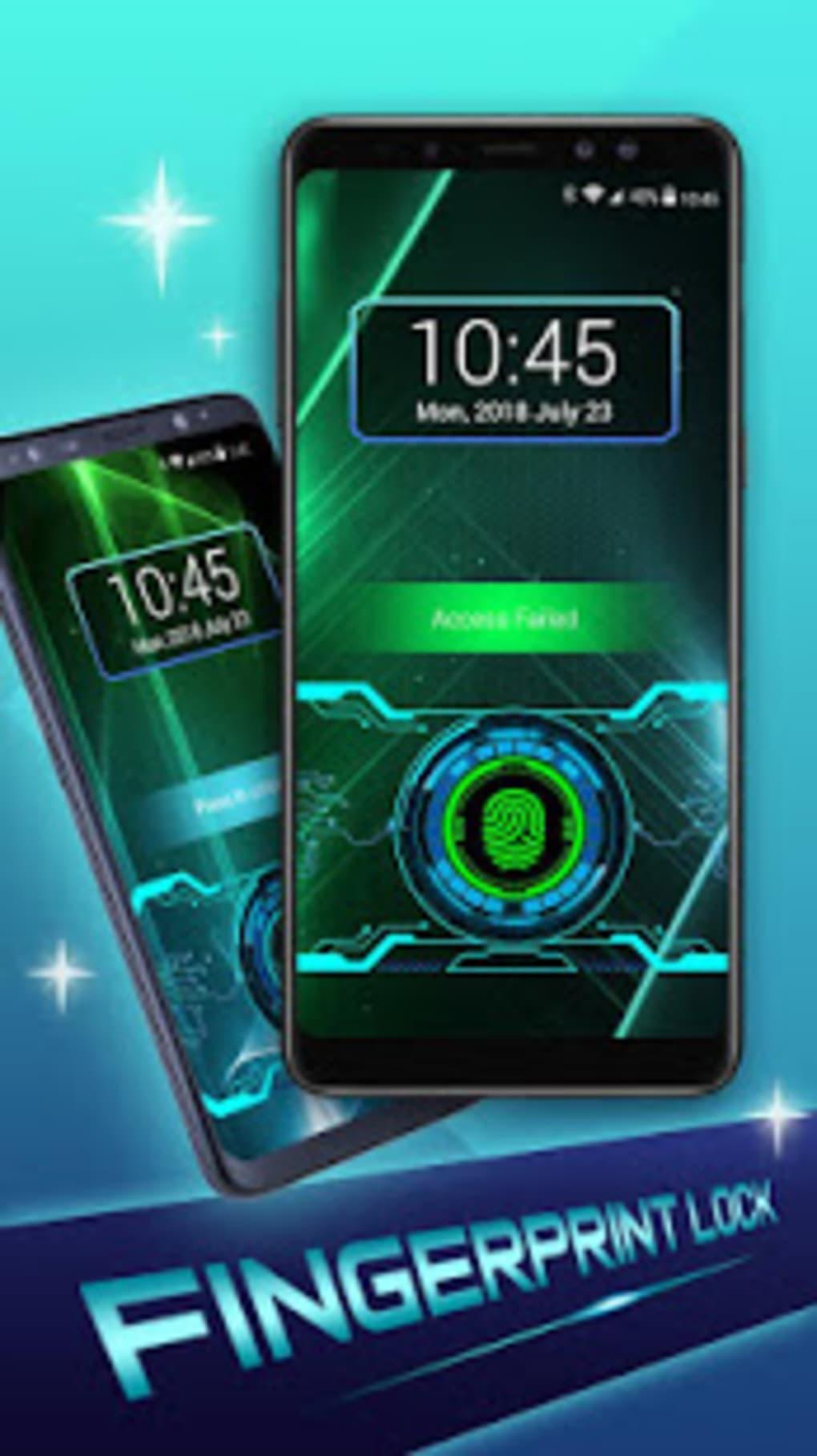fingerprint scanner lock app for android free download