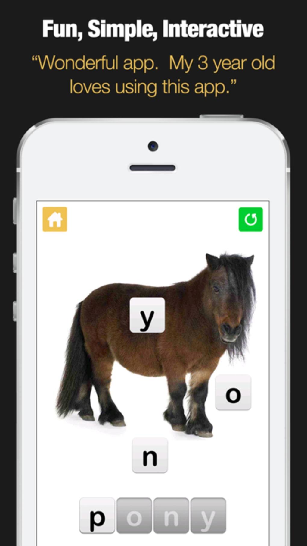 Spelling Bee for Kids - Spell 4 Letter Words for iPhone
