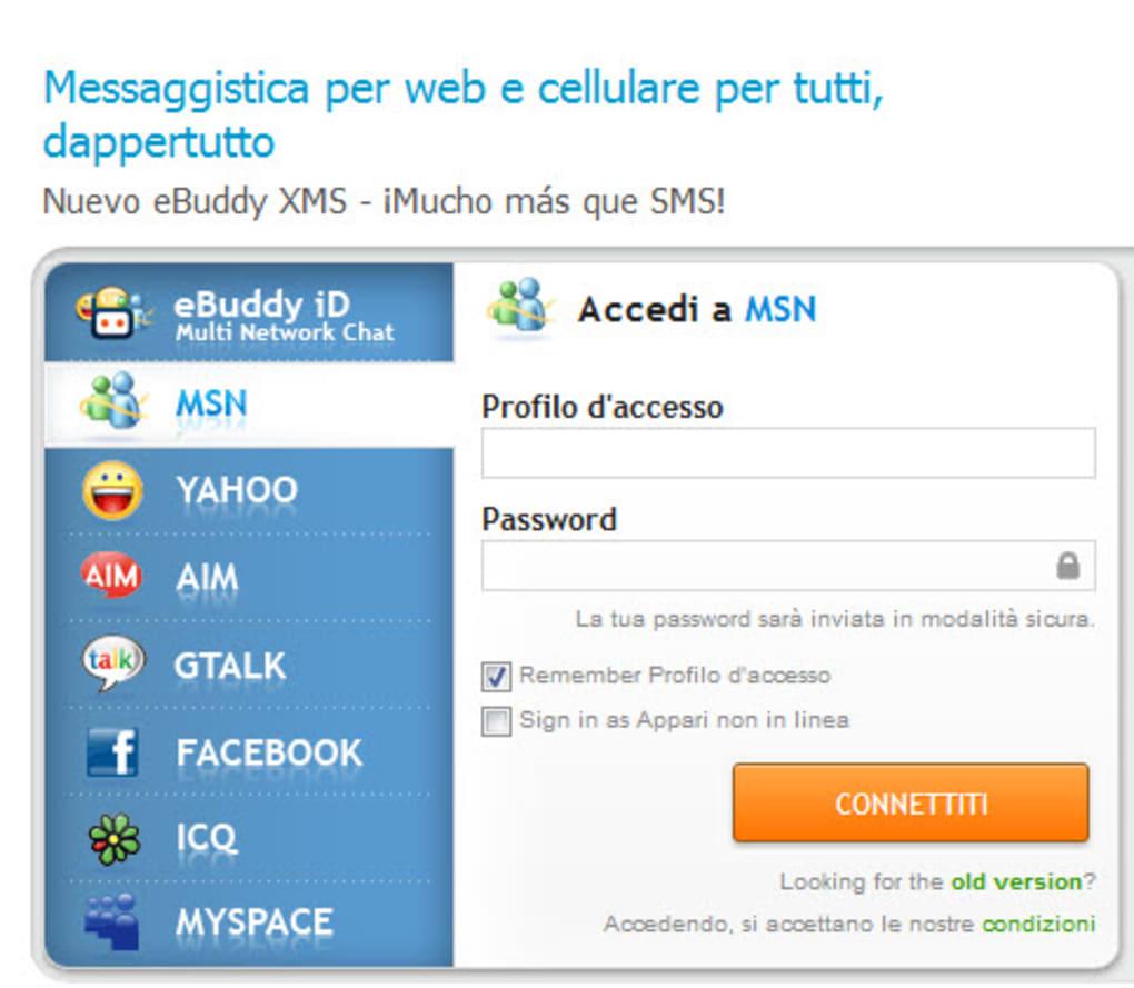ebuddy gratis per cellulare