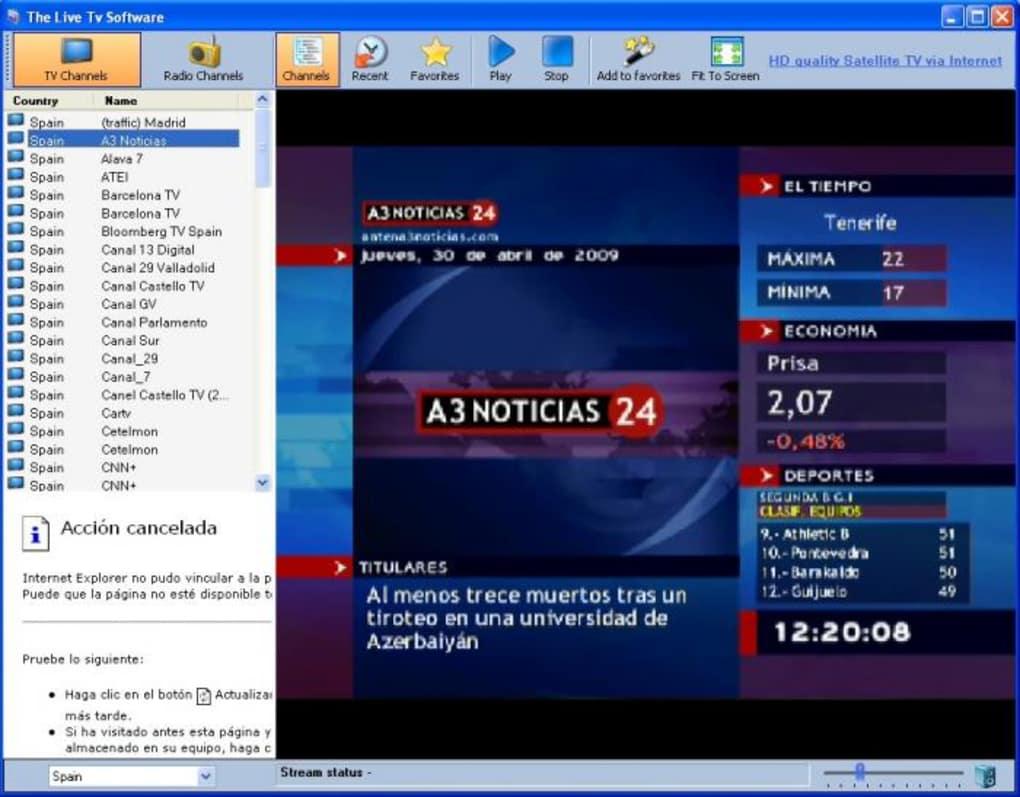 free live tv 9.5.0 gratuit