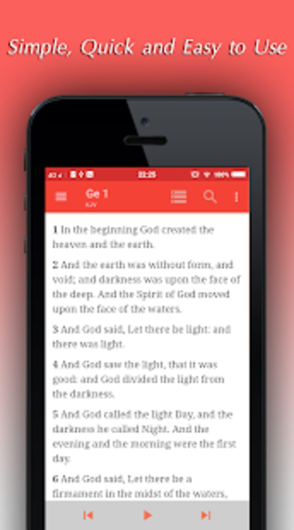 King James Bible Audio KJV Offline Holy Bible for Android - Download