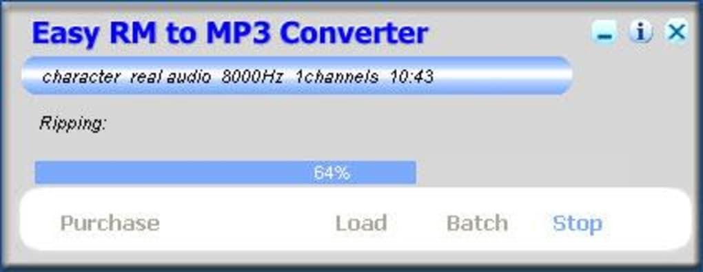 convertisseur rm to mp3 mac