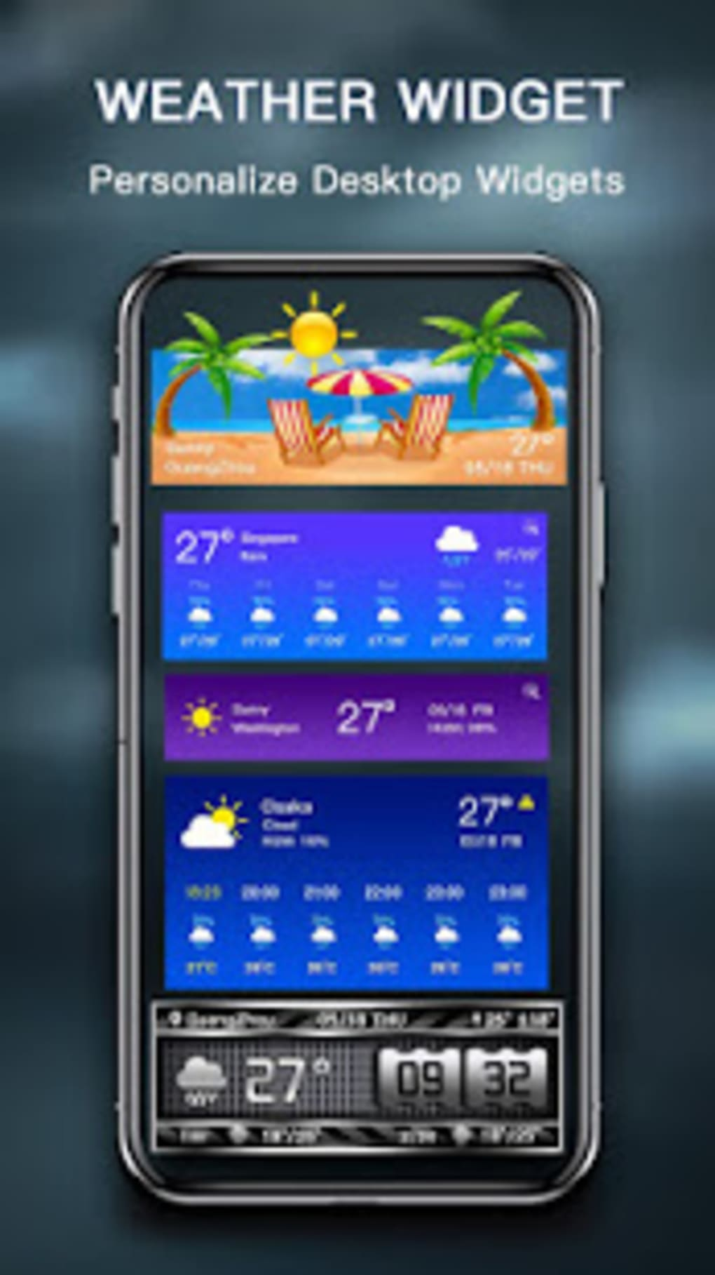 Weather Forecast - live weather radar for Android - Download