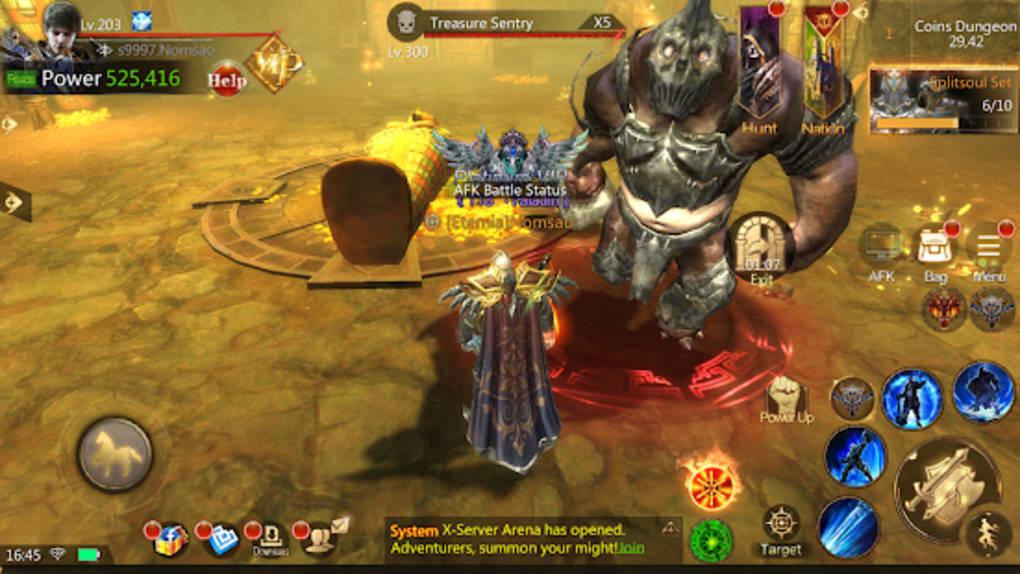 Brave Blades: Discord War 3D Action Fantasy MMORPG for