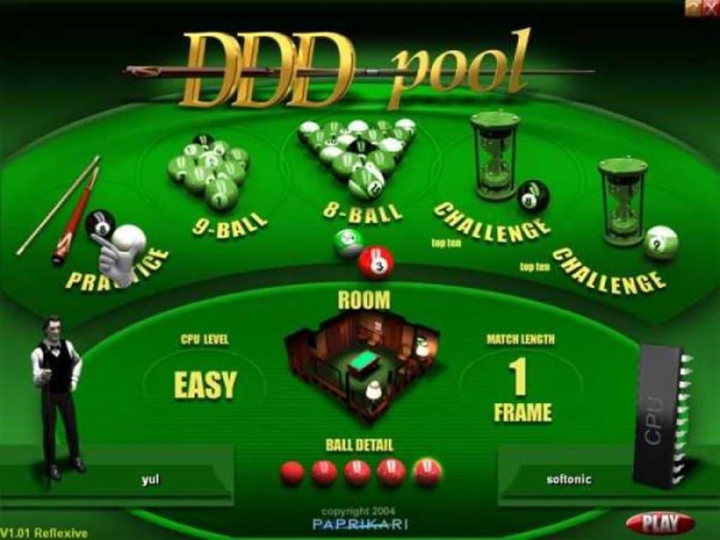 jeux ddd pool gratuit
