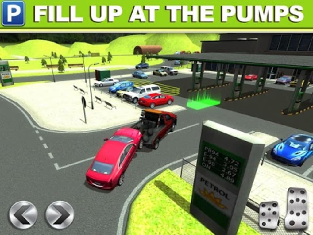 gas station car parking game for android download