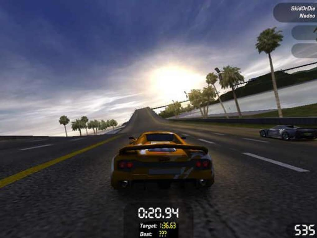 Files which can be opened by TrackMania Sunrise