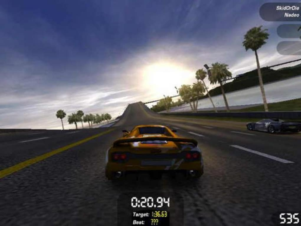 trackmania sunrise gratuitement