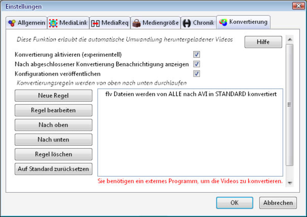 downloadhelper schneller